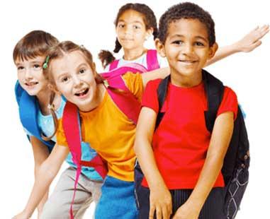 child for school